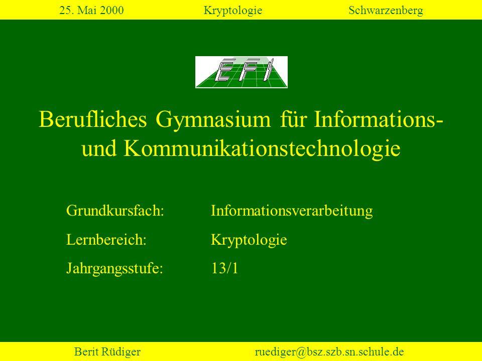 Berufliches Gymnasium für Informations- und Kommunikationstechnologie