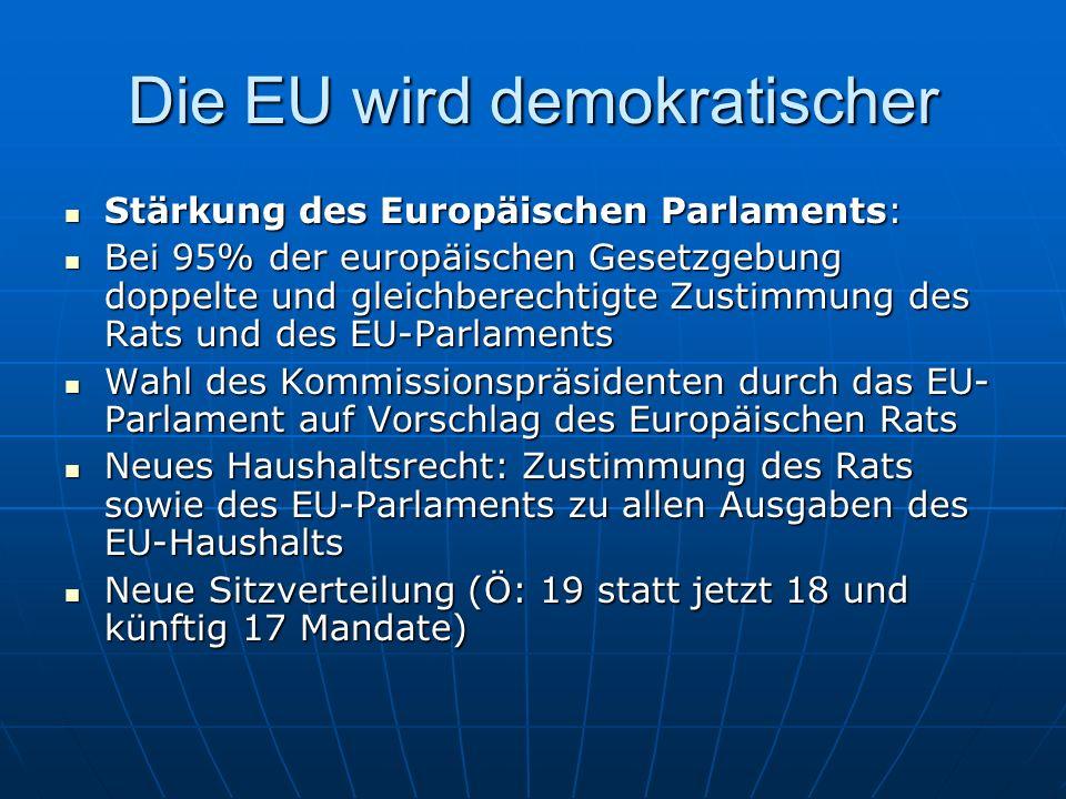 Die EU wird demokratischer