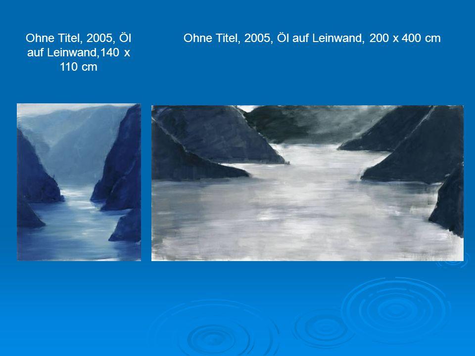 Ohne Titel, 2005, Öl auf Leinwand,140 x 110 cm
