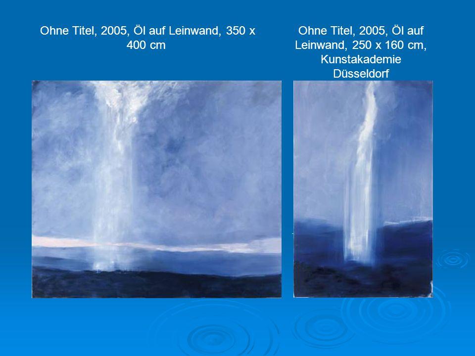 Ohne Titel, 2005, Öl auf Leinwand, 350 x 400 cm