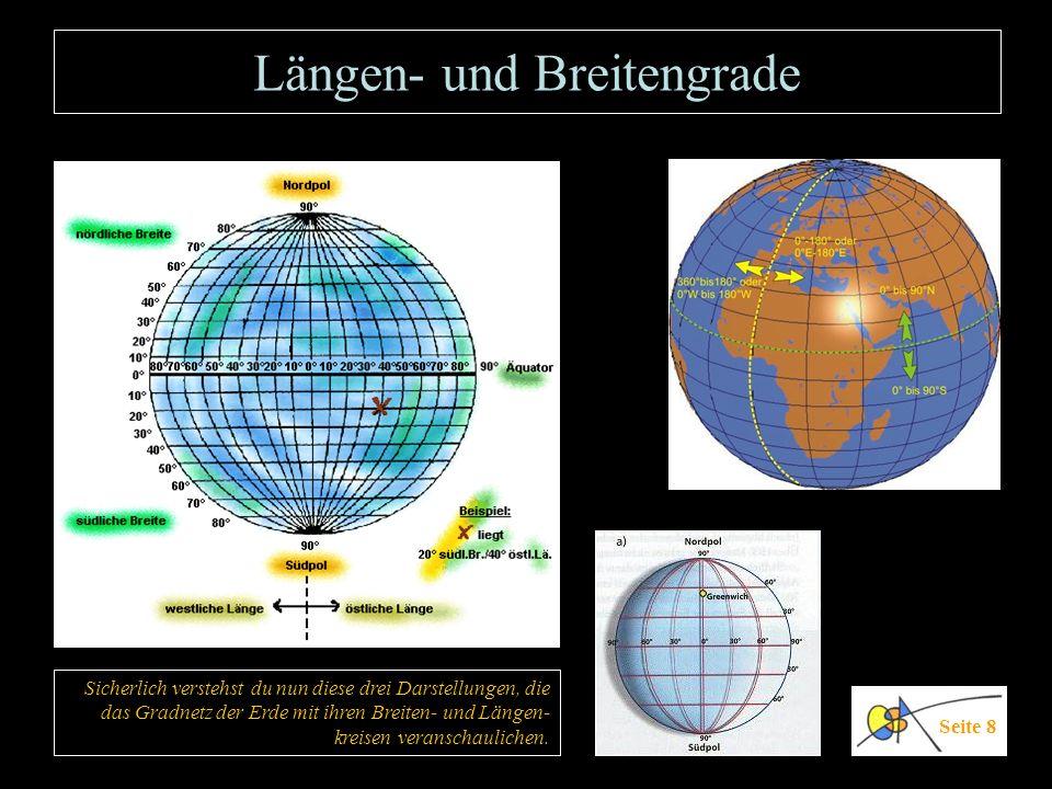 Längen- und Breitengrade