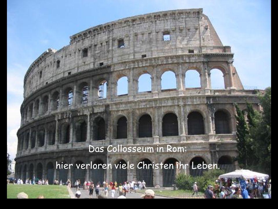 hier verloren viele Christen ihr Leben.