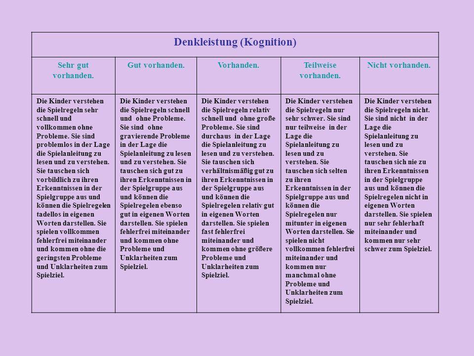 Denkleistung (Kognition)