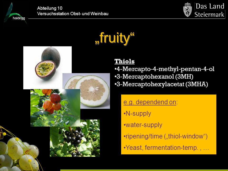"""fruity Thiols 4-Mercapto-4-methyl-pentan-4-ol"