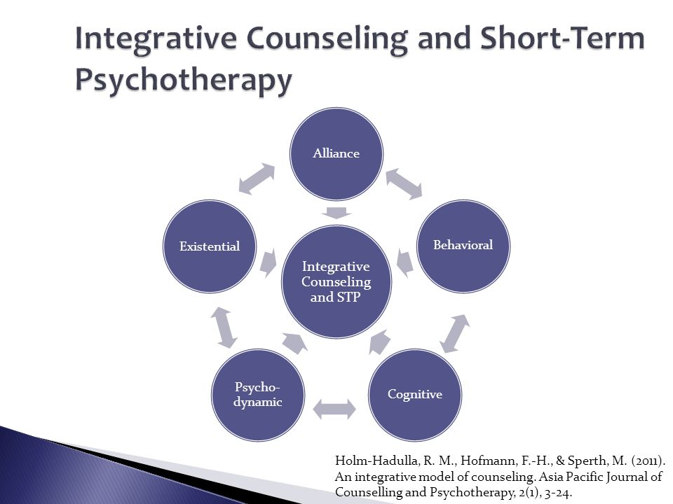 Integrative Counseling and Short-Term Psychotherapy