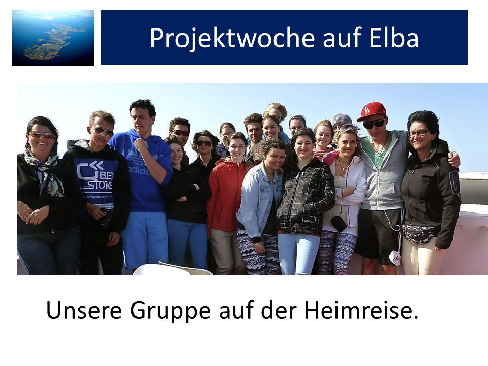 Projektwoche auf Elba Projektwoche auf Elba