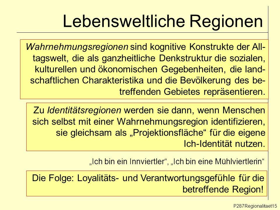 Lebensweltliche Regionen