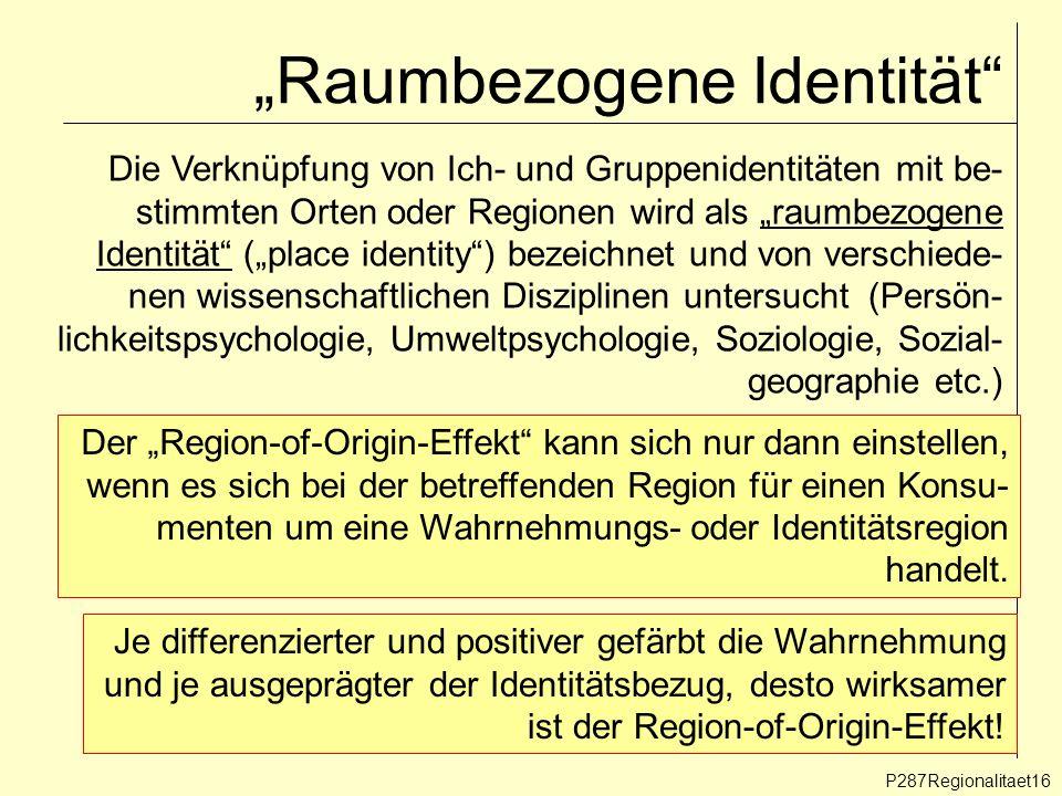 """""""Raumbezogene Identität"""