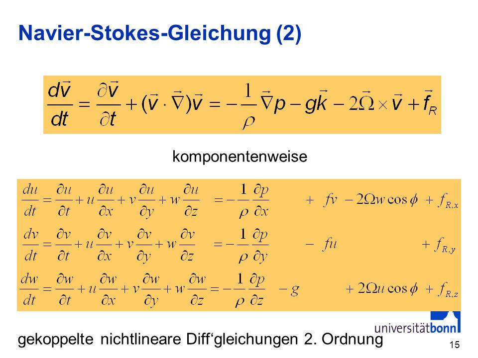 Navier-Stokes-Gleichung (2)