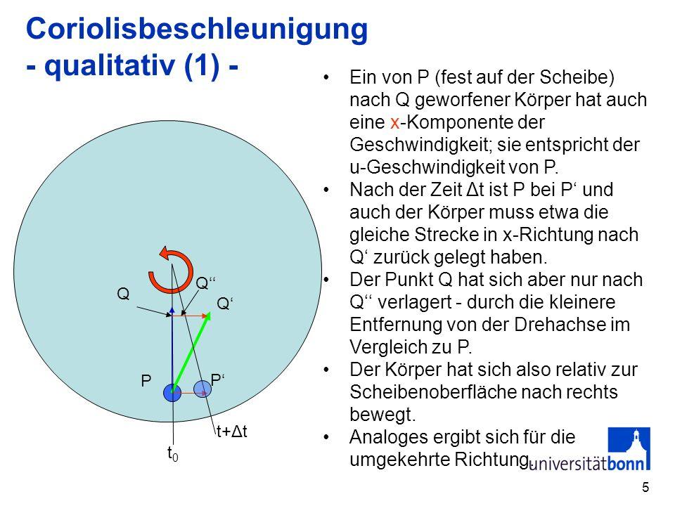 Coriolisbeschleunigung - qualitativ (1) -