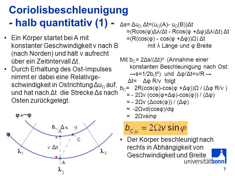Coriolisbeschleunigung - halb quantitativ (1) -