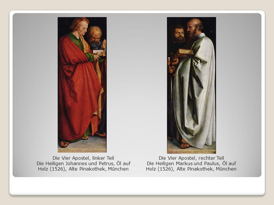 Die Vier Apostel, linker Teil