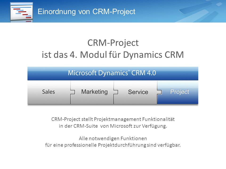 Einordnung von CRM-Project