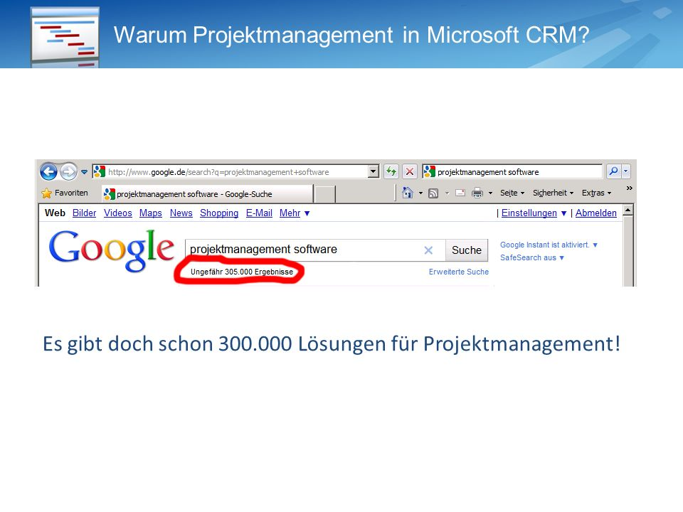 Warum Projektmanagement in Microsoft CRM