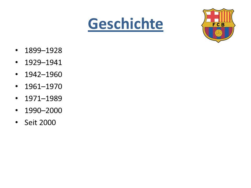 Geschichte 1899–1928 1929–1941 1942–1960 1961–1970 1971–1989 1990–2000 Seit 2000