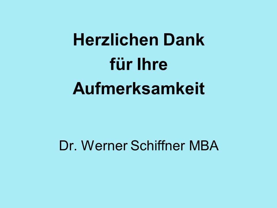 Dr. Werner Schiffner MBA