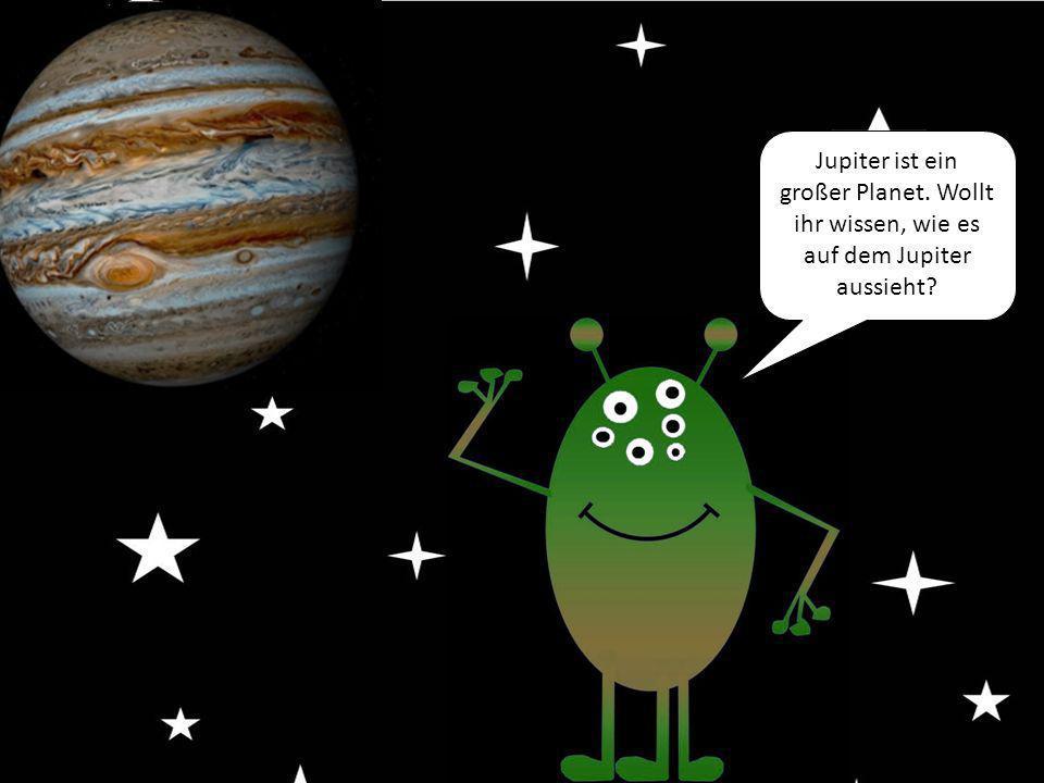 Jupiter ist ein großer Planet