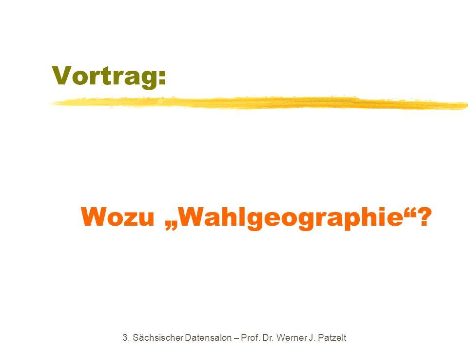 "Wozu ""Wahlgeographie"