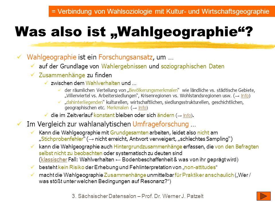 "Was also ist ""Wahlgeographie"