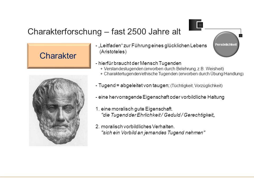 Charakterforschung – fast 2500 Jahre alt