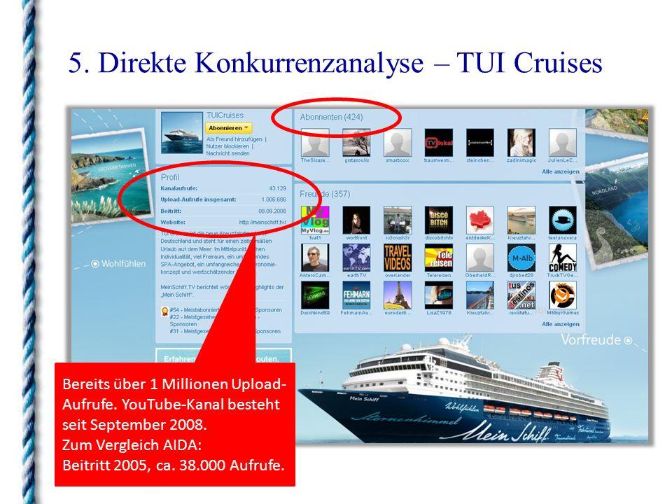5. Direkte Konkurrenzanalyse – TUI Cruises