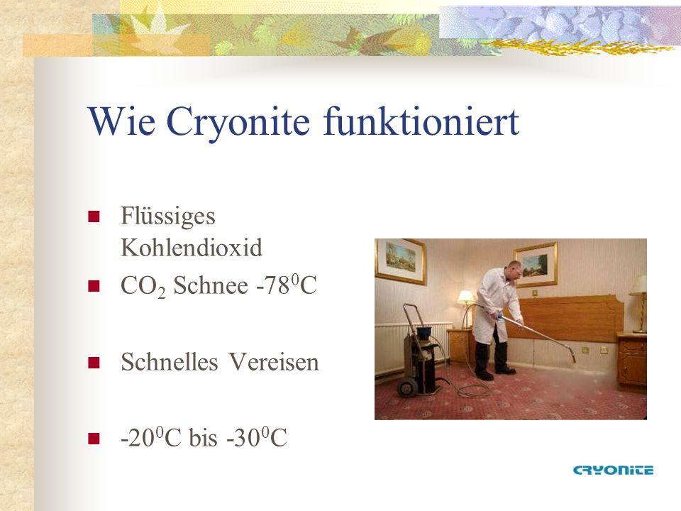 Wie Cryonite funktioniert