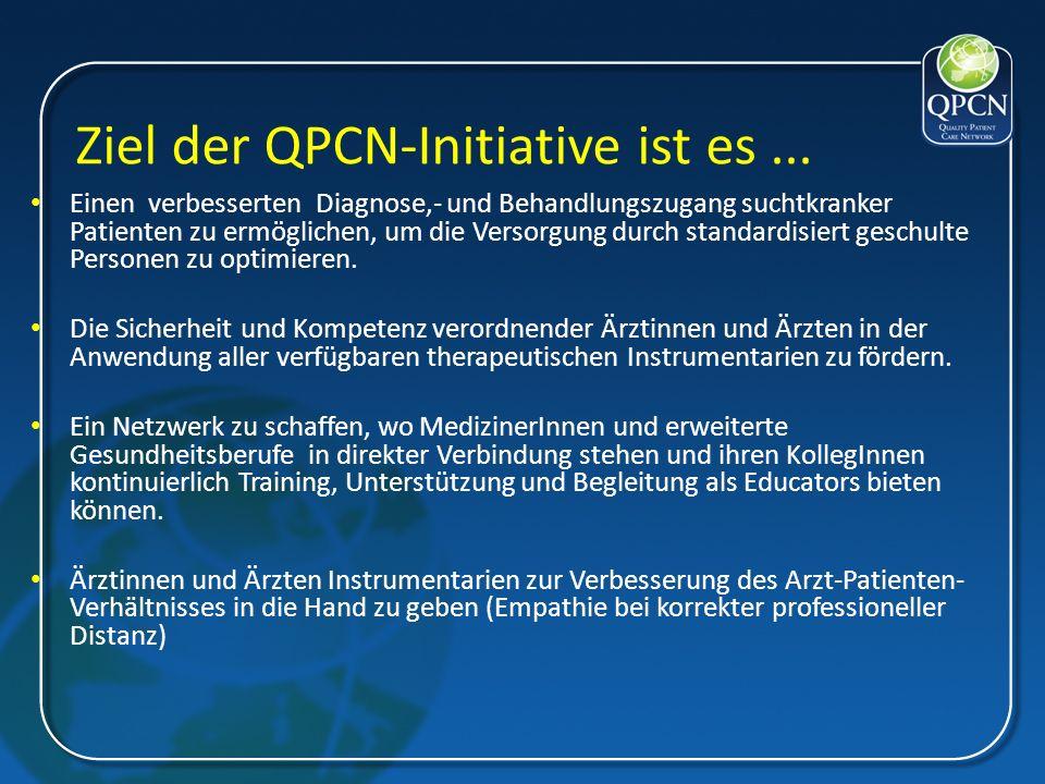 Ziel der QPCN-Initiative ist es ...
