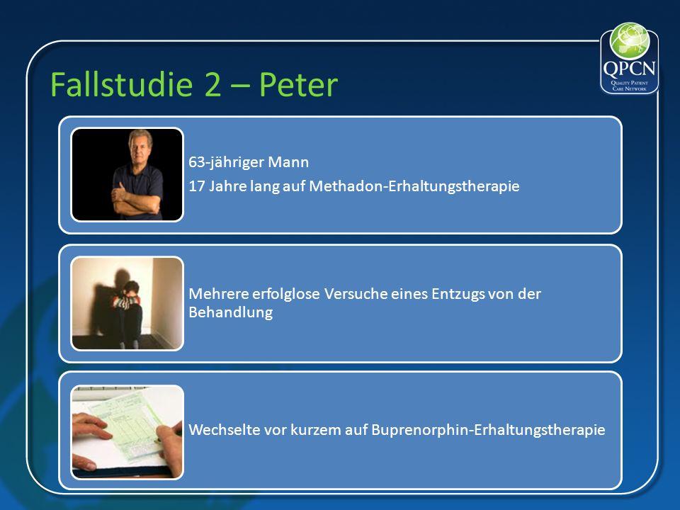 Fallstudie 2 – Peter 63- jähriger Mann