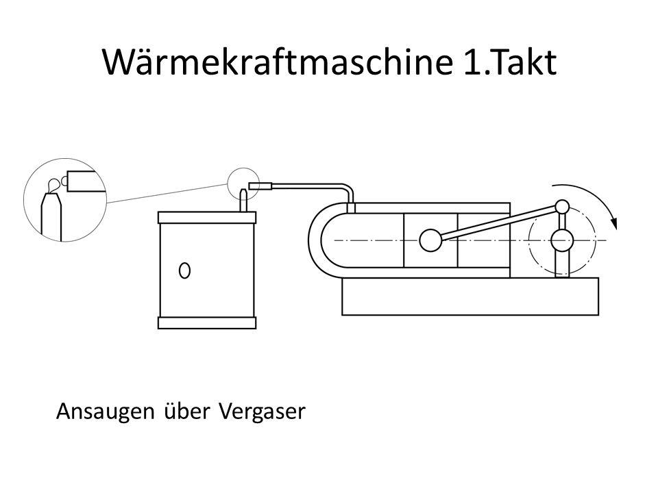 Wärmekraftmaschine 1.Takt