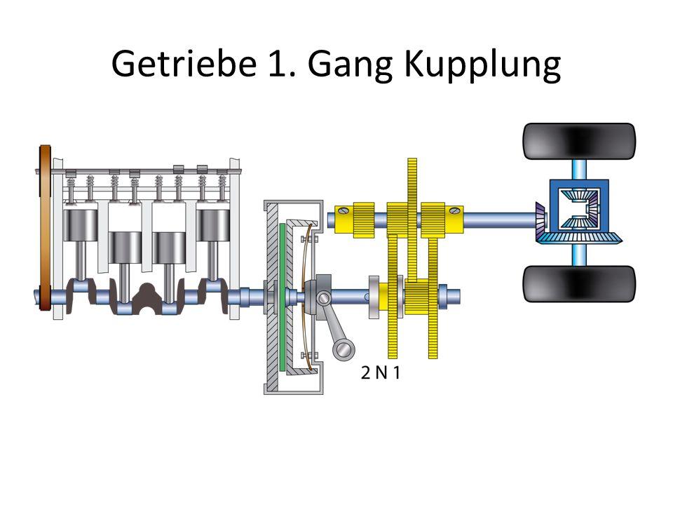 Getriebe 1. Gang Kupplung