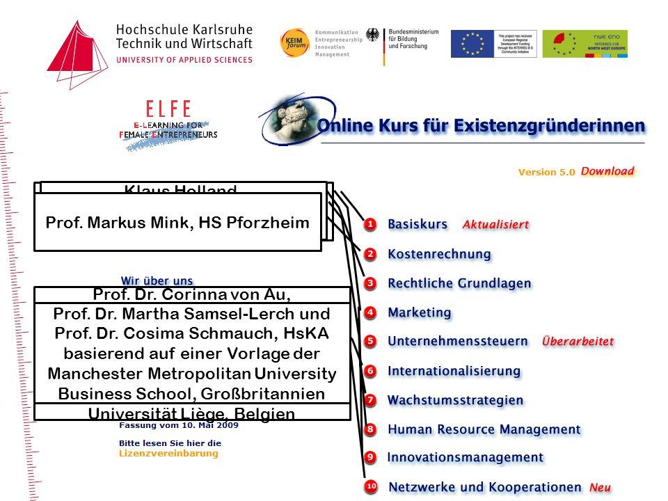 Prof. Dr. H.-D. Müller und Caroline Schmeer, HsKA
