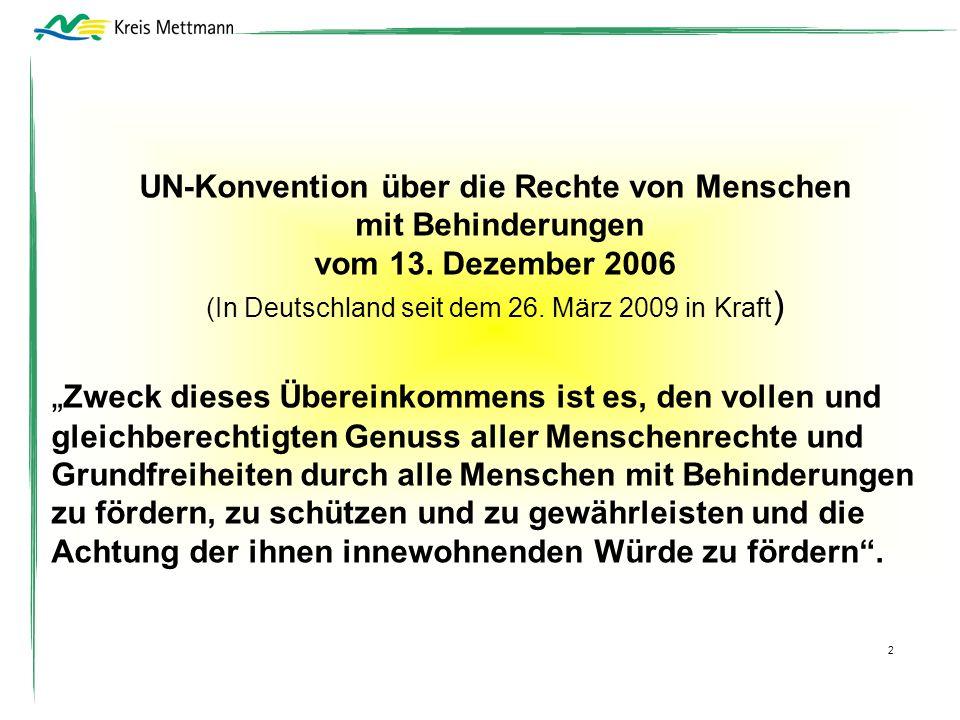 UN-Konvention über die Rechte von Menschen