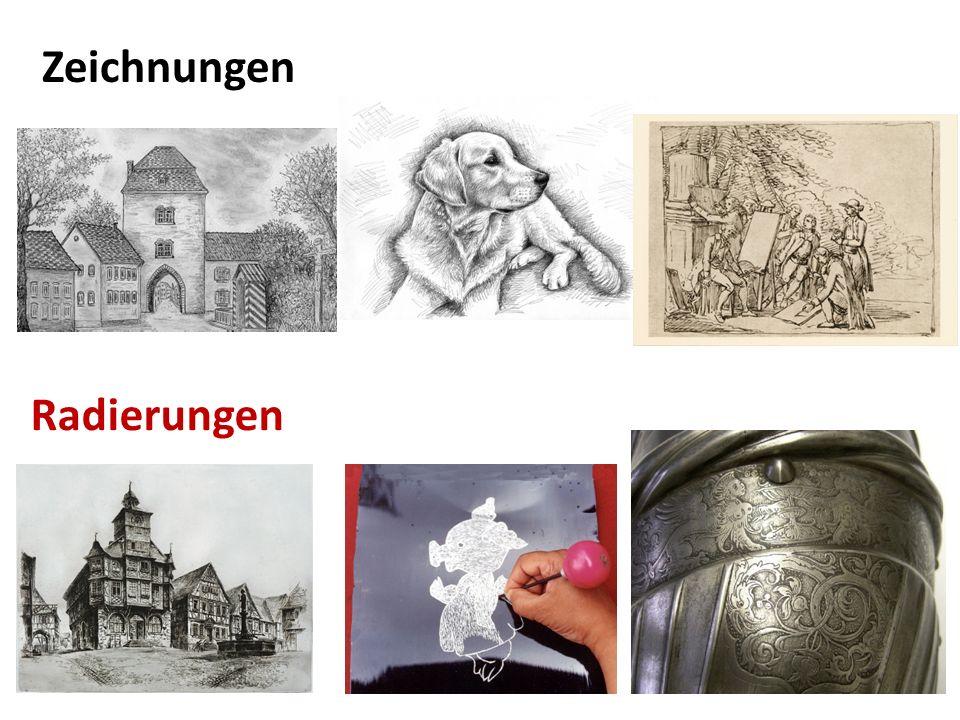 Zeichnungen Radierungen