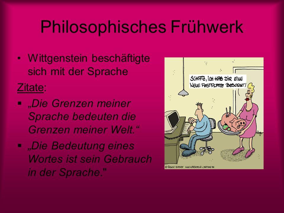 Philosophisches Frühwerk