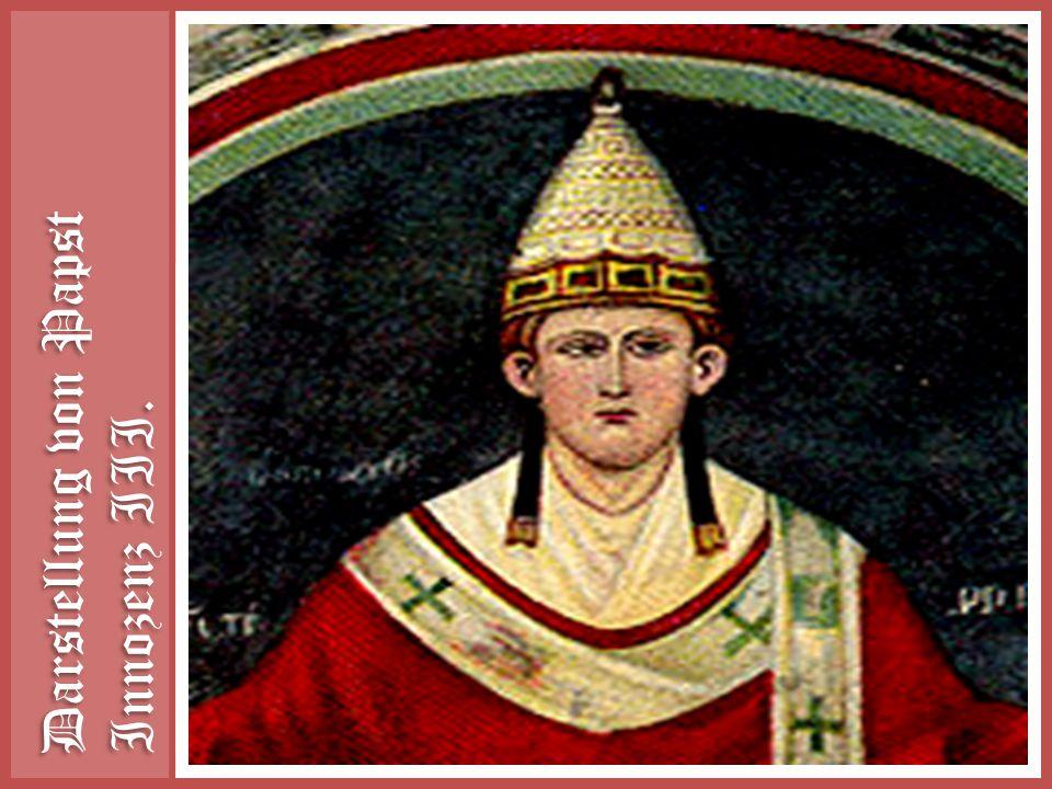 Darstellung von Papst Innozenz III.