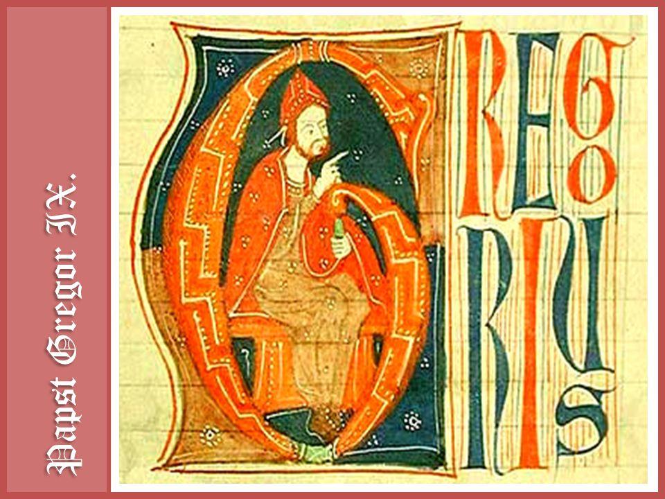 Papst Gregor IX.