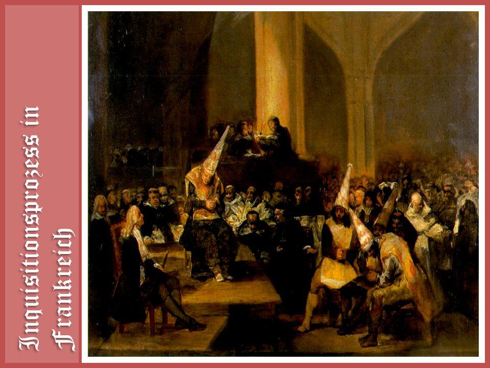 Inquisitionsprozess in Frankreich