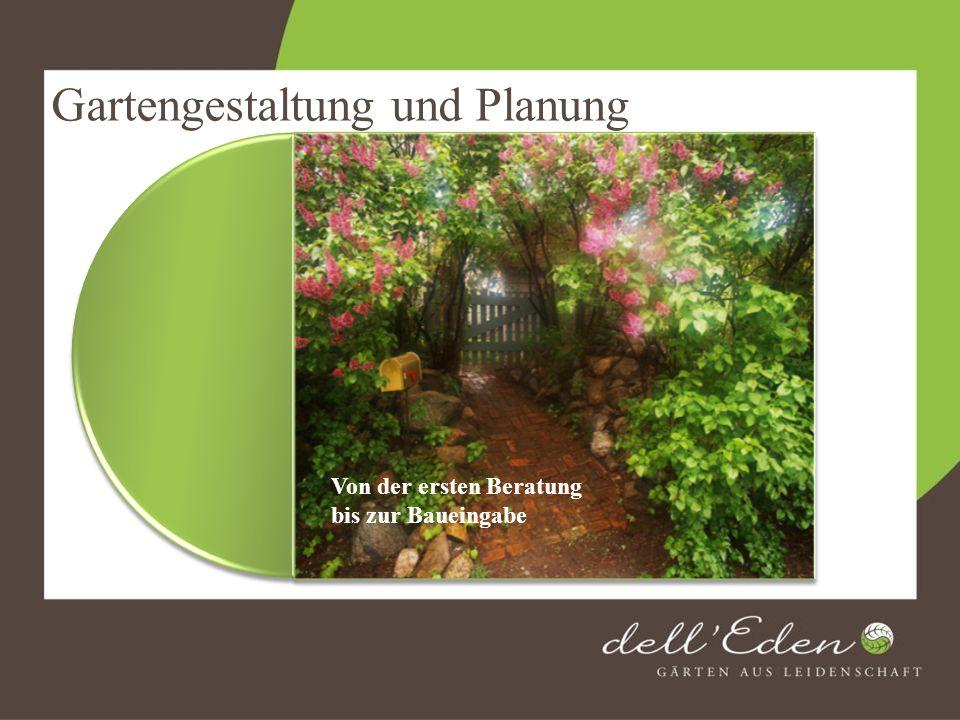 Gartengestaltung und Planung