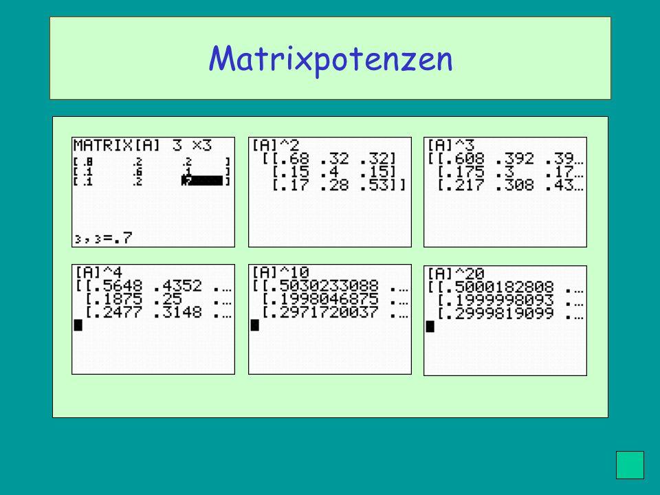 Matrixpotenzen