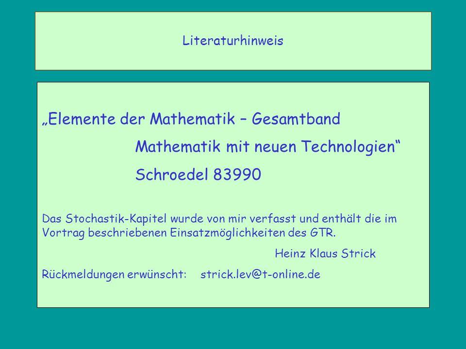 """""""Elemente der Mathematik – Gesamtband"""