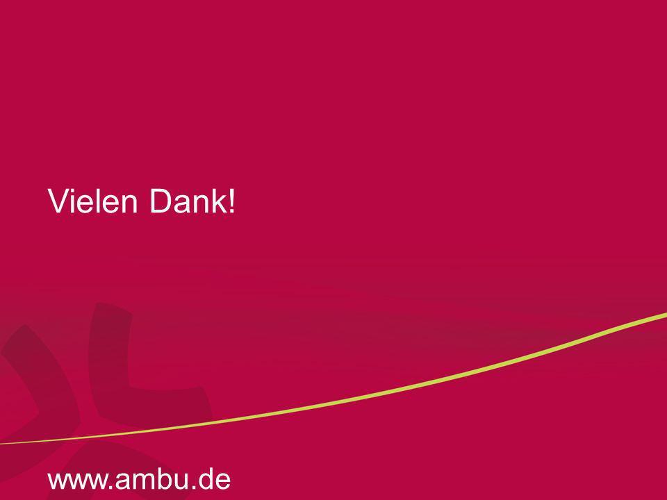 Vielen Dank! www.ambu.de