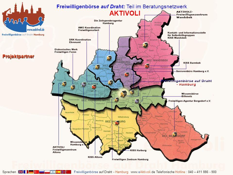 Freiwilligenbörse auf Draht: Teil im Beratungsnetzwerk AKTIVOLI