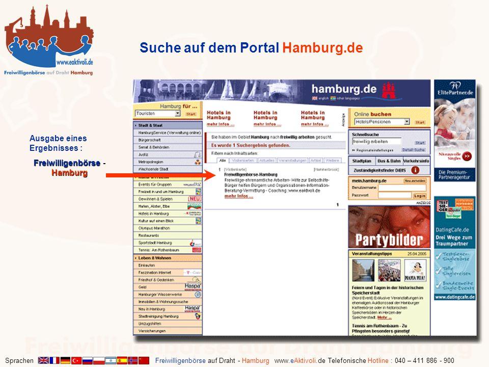 Freiwilligenbörse - Hamburg
