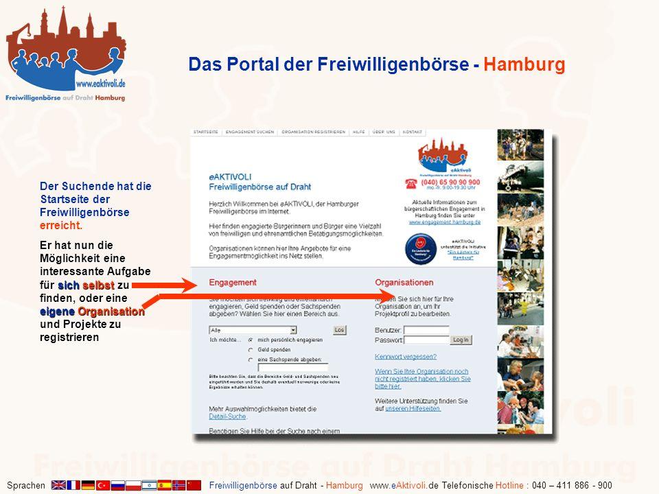 Das Portal der Freiwilligenbörse - Hamburg