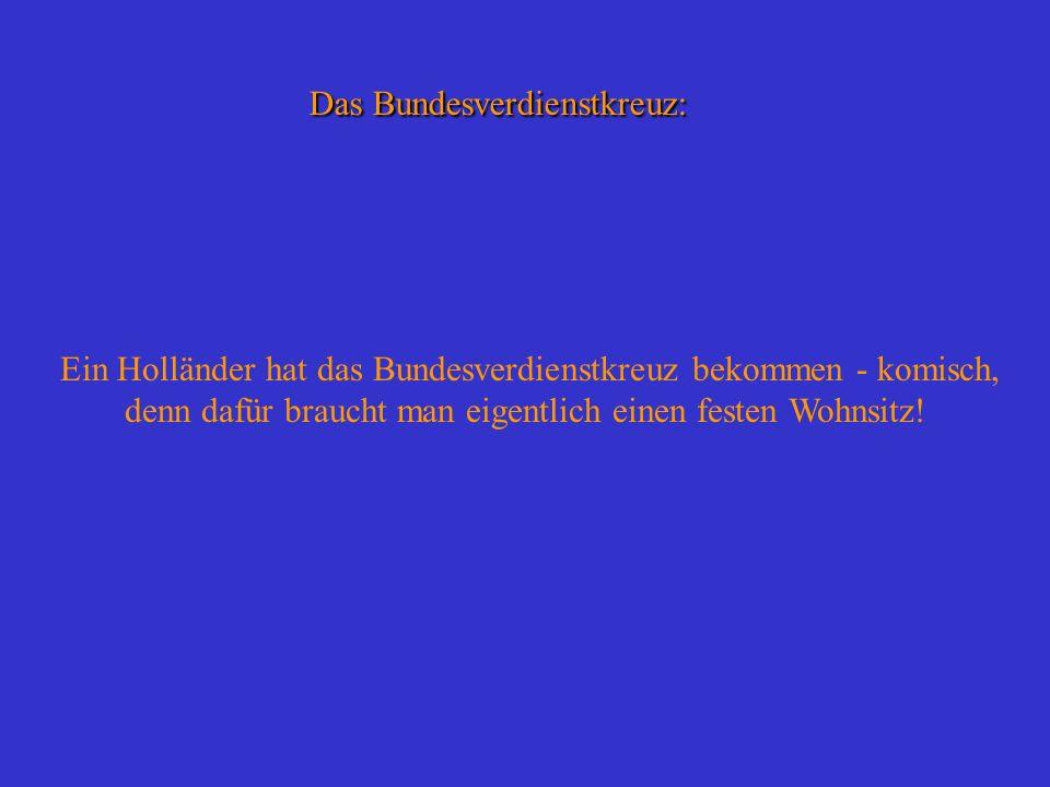 Das Bundesverdienstkreuz: