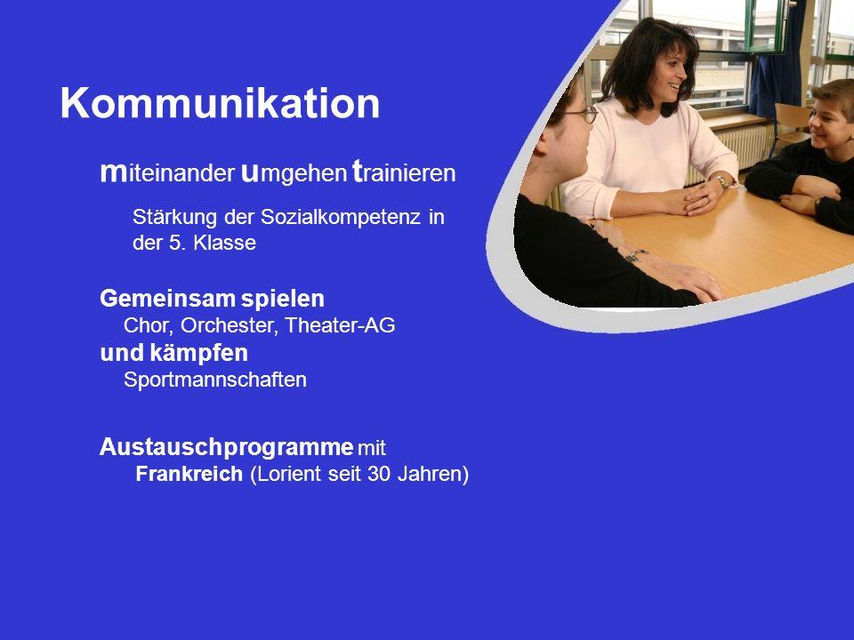 Kommunikation miteinander umgehen trainieren Gemeinsam spielen