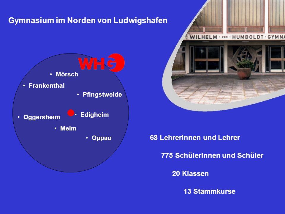 Gymnasium im Norden von Ludwigshafen