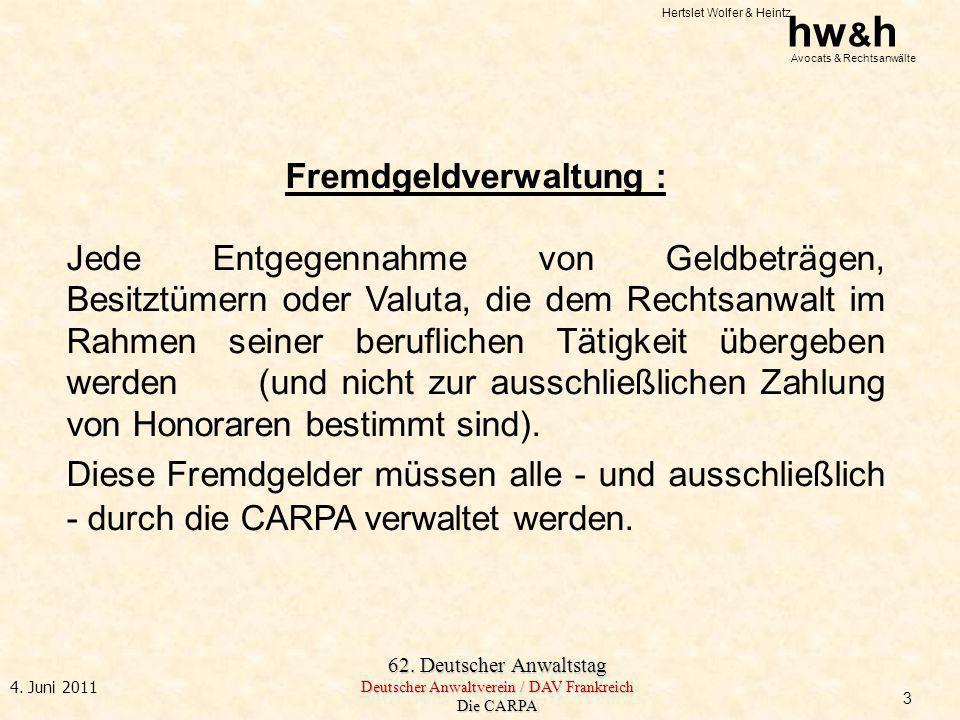 Fremdgeldverwaltung :
