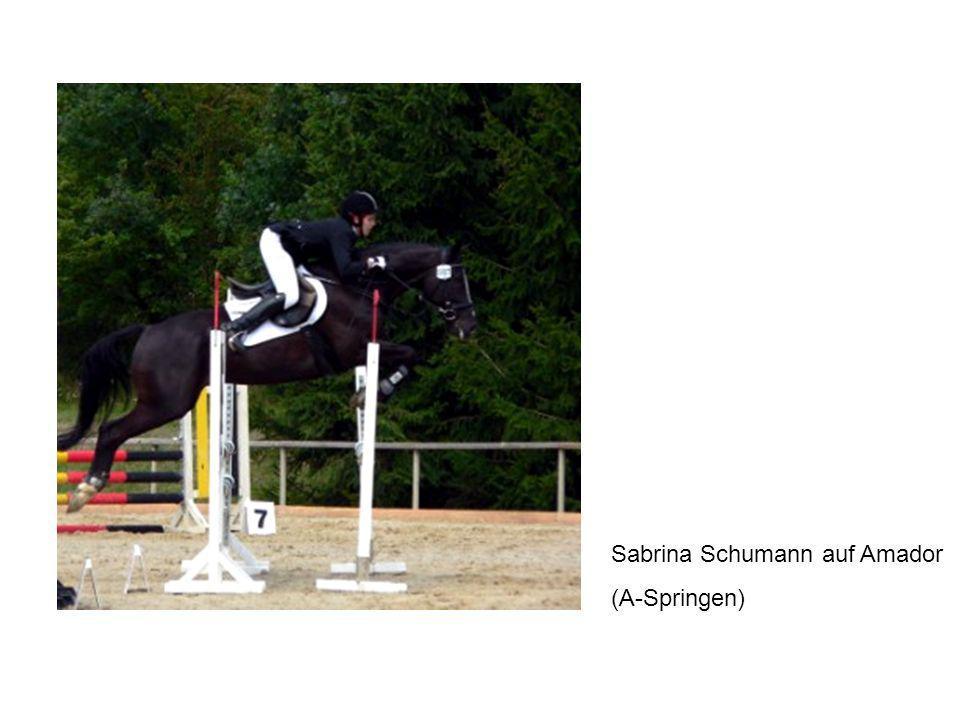 Sabrina Schumann auf Amador