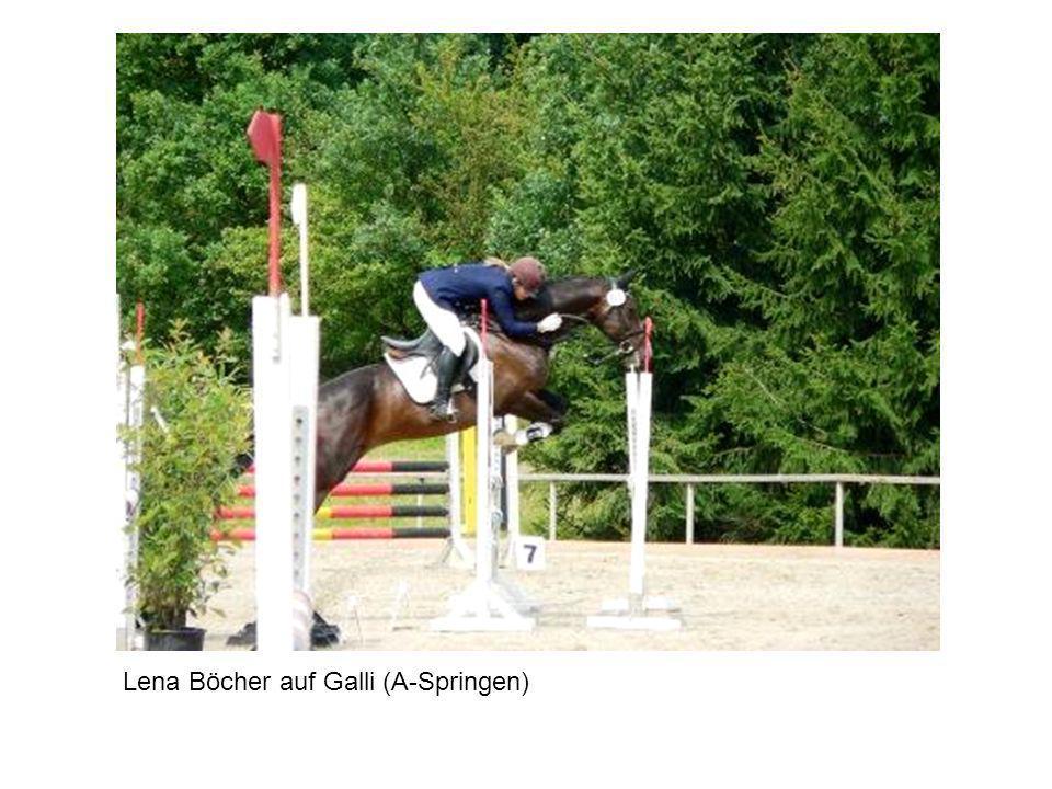 Lena Böcher auf Galli (A-Springen)
